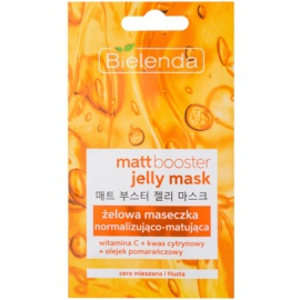 Bielenda Jelly Mask Matt Booster Normalizing Matting Mask for Combiantion and Oily Skin  8 g