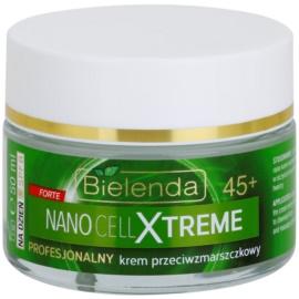 Bielenda Nano Cell Xtreme 45+ creme de dia antirrugas SPF 8  50 ml