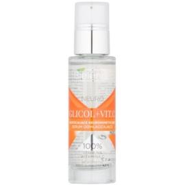 Bielenda Neuro Glicol + Vit. C noćni serum za pomlađivanje s piling učinkom  30 ml