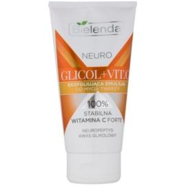 Bielenda Neuro Glicol + Vit. C очищуюча емульсія-ексфоліант для шкіри з недоліками  150 гр