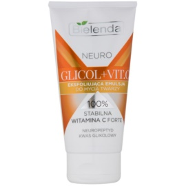 Bielenda Neuro Glicol + Vit. C Cleansing Exfoliator For Skin With Imperfections  150 g