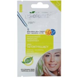 Bielenda Professional Formula detoxikační pleťová maska  2 x 5 g