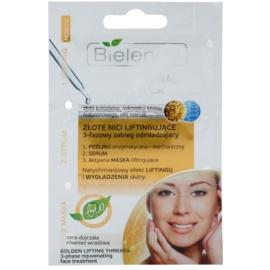 Bielenda Professional Formula peeling, sérum e máscara restauração intensiva e esticamento da pele  3 x 3 g