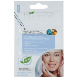 Bielenda Professional Formula piling, serum in maska za intenzivno hidracijo  3 x 3 g
