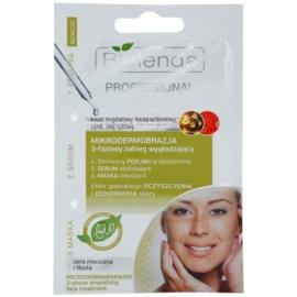 Bielenda Professional Formula peeling, sérum a maska pro mastnou pleť se sklonem k akné  3 x 3 g