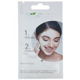Bielenda Professional Formula peeling a maska pro citlivou a zarudlou pleť  2 x 5 g