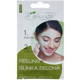 Bielenda Professional Formula peeling i maseczka do skóry  tłustej  2 x 5 g