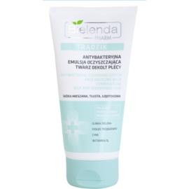 Bielenda Pharm Acne antibakteriální čisticí gel na obličej, dekolt a záda proti akné  150 g