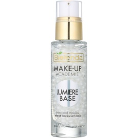 Bielenda Make-Up Academie Lumiere Base baza de machiaj iluminatoare  30 g
