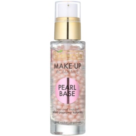 Bielenda Make-Up Academie Pearl Base primer rosa per fondotinta per un aspetto sano  30 ml