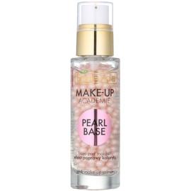Bielenda Make-Up Academie Pearl Base base de teint à la rose pour une apparence saine  30 ml