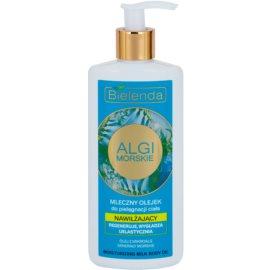 Bielenda Sea Algae Moisturizing mléčný tělový olej s vyhlazujícím efektem  200 ml