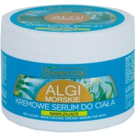 Bielenda Sea Algae Moisturizing Creme-Serum für den Körper zum straffen der Haut  200 ml