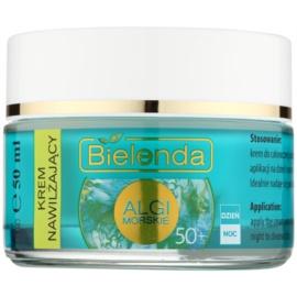 Bielenda Sea Algae Moisturizing Anti-Faltencreme 50+  50 ml