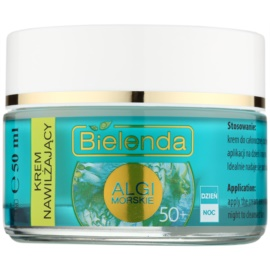 Bielenda Sea Algae Moisturizing crema anti-rid 50+  50 ml