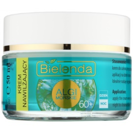 Bielenda Sea Algae Moisturizing crema antirughe profonde 60+  50 ml