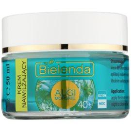 Bielenda Sea Algae Moisturizing crema contro i primi segni di invecchiamento della pelle 40+  50 ml