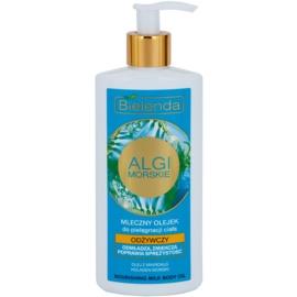 Bielenda Sea Algae Nourishing Öl Milch für den Körper mit festigender Wirkung  200 ml