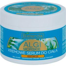 Bielenda Sea Algae Nourishing creme sérum corporal para refirmação de pele  200 ml