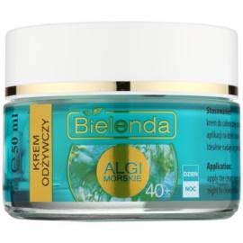 Bielenda Sea Algae Nourishing nährende Creme gegen erste Falten 40+  50 ml