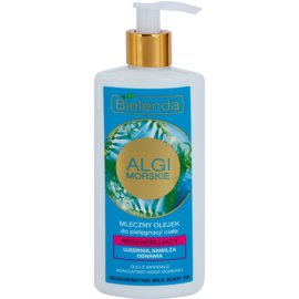 Bielenda Sea Algae Regeneration mléčný tělový olej pro zpevnění pokožky  200 ml