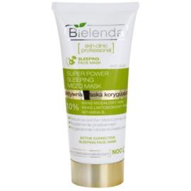 Bielenda Skin Clinic Professional Correcting Maske für die Nacht für Haut mit kleinen Makeln  50 ml