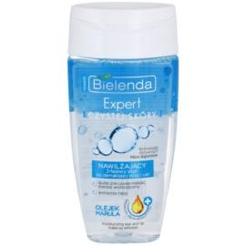 Bielenda Expert Pure Skin Moisturizing removedor de maquilhagem bifásico para contornos dos olhos e lábios  150 ml
