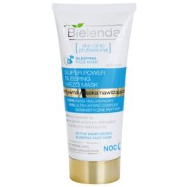 Bielenda Skin Clinic Professional Moisturizing feuchtigkeitsspendende Maske für die Nacht für trockene Haut  50 ml