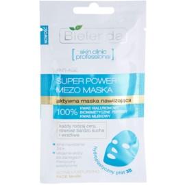 Bielenda Skin Clinic Professional Moisturizing plátýnková maska s hydratačním a vyhlazujícím účinkem