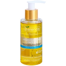 Bielenda Skin Clinic Professional Moisturizing latte detergente all'olio di argan con acido ialuronico  140 ml