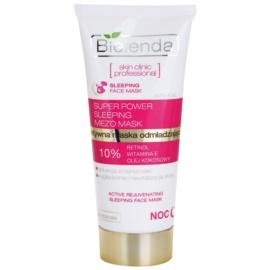 Bielenda Skin Clinic Professional Rejuvenating Sleeping Mask With Rejuvenating Effect  50 ml