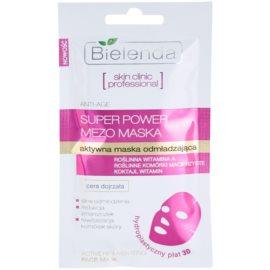 Bielenda Skin Clinic Professional Rejuvenating plátýnková maska s revitalizačním účinkem