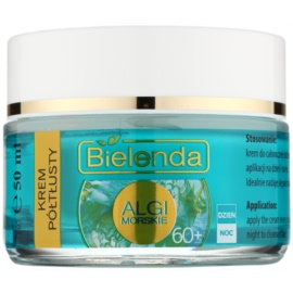Bielenda Sea Algae Semi-Rich creme antirrugas nutritivo 60+  50 ml