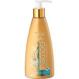 Bielenda Vanity Golden Oils feuchtigkeitsspendendes Duschbalsam zum Rasieren  250 ml