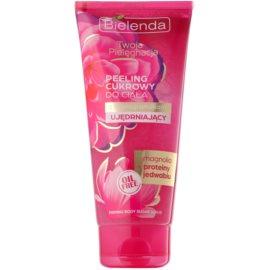 Bielenda Your Care Magnolia & Silk Protein Zucker-Peeling für die Festigung der  Haut  200 g
