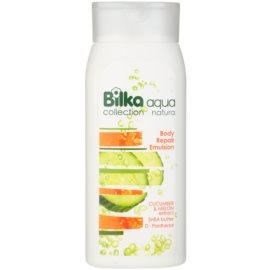 Bilka Aqua Natura regenerierende Bodyemulsion mit feuchtigkeitsspendender Wirkung  200 ml