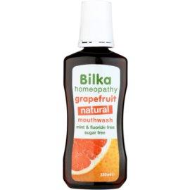 Bilka Homeopathy osvežilna ustna voda okus Grapefruit (Mint Free, Fluoride Free, Sugar Free) 250 ml