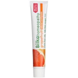 Bilka Homeopathy паста за зъби вкус Grapefruit (Mint Free, Fluoride Free, Sugar Free) 75 мл.