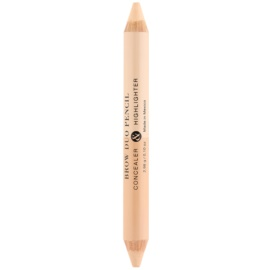 Billion Dollar Brows Color & Control szemkontúr toll 2 az 1-ben  3,6 g