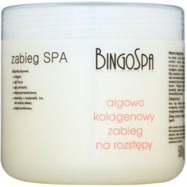BingoSpa Algae & Collagen Gel gegen Schwangerschaftsstreifen  500 g