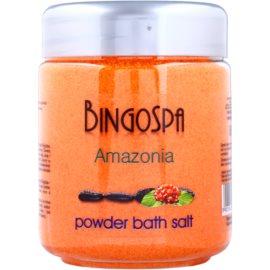 BingoSpa Amazonia kúpeľový púder s extraktom z guarany  580 g