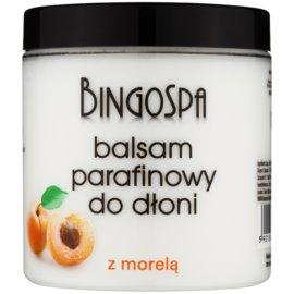 BingoSpa Apricot parafínový balzám na ruce  250 g