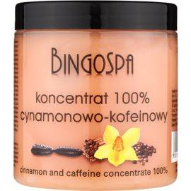 BingoSpa Caffeine & Cinnamon zeštíhlující koncentrát  250 g