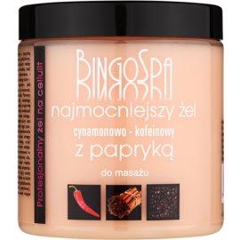 BingoSpa Caffeine & Cinnamon Chilli schlankmachendes Massagegel  250 g