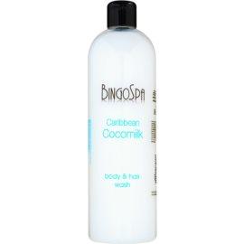 BingoSpa Caribbean Cocomilk sprchové mléko na tělo a vlasy  500 ml
