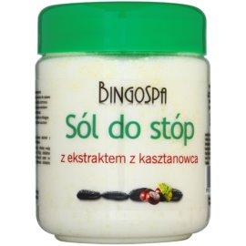 BingoSpa Chestnut koupelová sůl na nohy se sklonem k otokům a křečovým žilám  550 g
