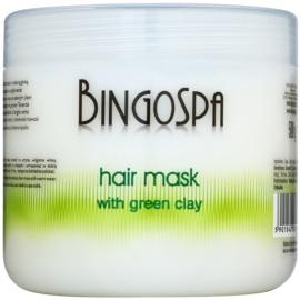 BingoSpa Green Clay mascarilla para cabello  500 g
