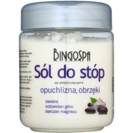 BingoSpa Herbs kúpeľová soľ na nohy obmedzujúca potenie  550 g