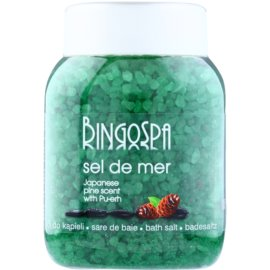 BingoSpa Japanese Pine Scent & Pu-erh morska sol za kopel  1350 g