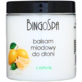 BingoSpa Lemon medový balzam na ruky  250 g